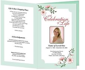 Free Funeral Order of Service Template
