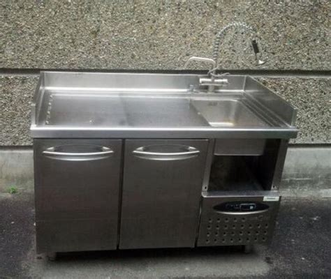 meuble de cuisine en inox table rabattable cuisine meuble inox occasion
