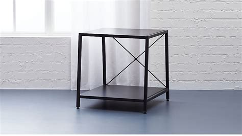 Cb2 Nightstand harvey carbon grey nightstand cb2