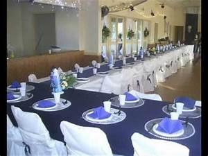 Deco Mariage Bleu Marine : salle mariage bleu marine et blanche diamonds are forever pinterest mariages en bleu ~ Teatrodelosmanantiales.com Idées de Décoration