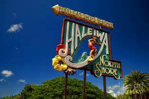 Oahu North Shore Haleiwa Sign