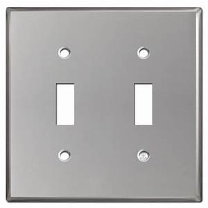 2 Toggle Switch Wall Plate