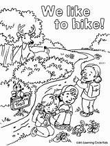 Coloring Pages Summer Fun Bee Hiking Camping Printable Friends Reader Printables Sheets Scouts Cool Bees Scout Camp Books Hikers Activities sketch template