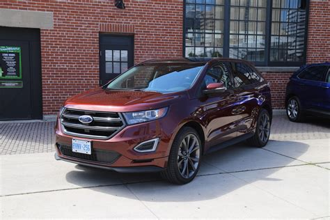 drive  ford edge canadian auto review