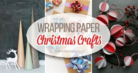 19 wrapping paper christmas crafts