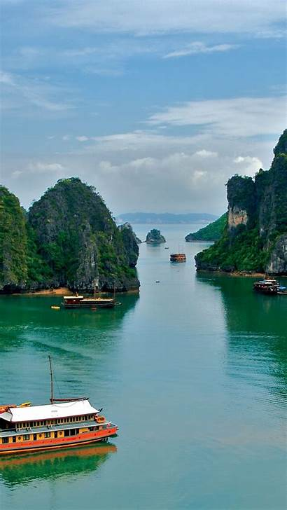 Vietnam Tropics Sea Background Parallax 5s 5c