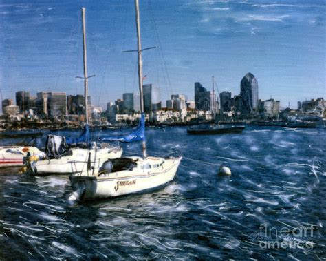 Sailboats For Sale San Diego by San Diego Sailboats Photograph By Glenn Mcnary