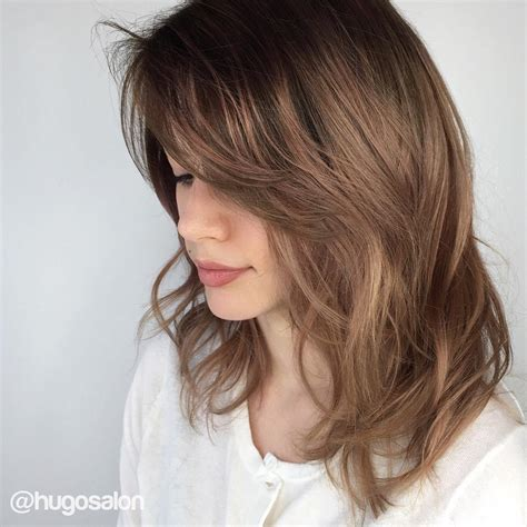 35 best medium length hairstyles for 2018 easy shoulder