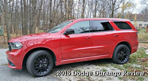 2015 Durango Review by 2015 Dodge Durango Review One Tough Suv Sweep Tight