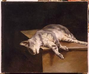 Dead Cat - Theodore Gericault - WikiArt.org - encyclopedia ...