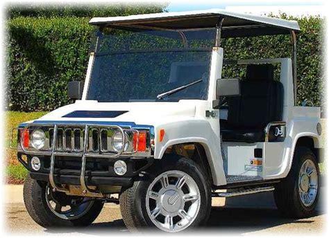 Hummer H3 Golf Cart