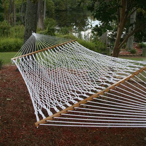 Polyester Hammock by The Original Pawleys Island Polyester Rope Hammock Dfohome