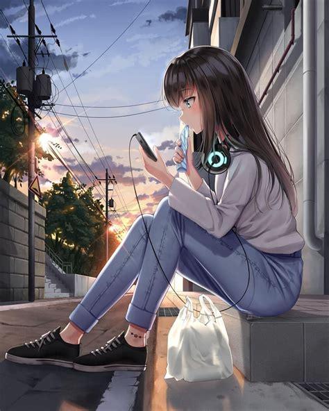 foto de 이미지: 사람 1명 이상 신발 만화 소녀 애니메이션 캐릭터