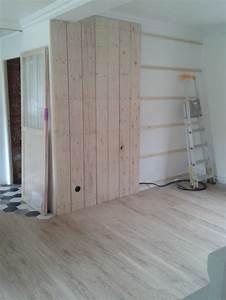 Mur Interieur En Bois De Coffrage : besoin d 39 aide pour am nagement salon salle manger ~ Premium-room.com Idées de Décoration