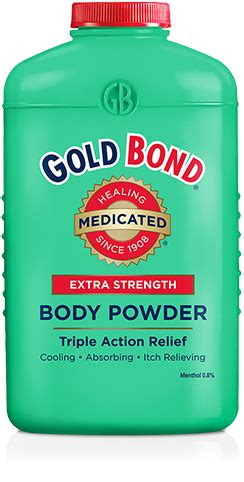 medicated extra strength body powder gold bond medicated