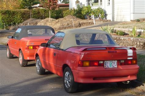 curbside classic geo metro convertible  truth  cars