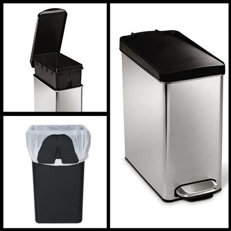 gallon step  garbage waste bin trash  basket