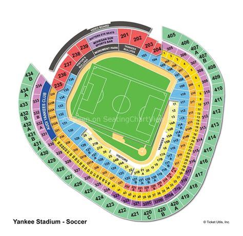 yankee stadium bronx ny seating chart view