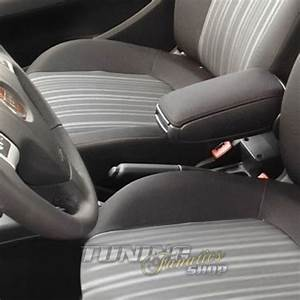 Bracciolo Centrale Tessuto Nero Compatibile Fiat Grande