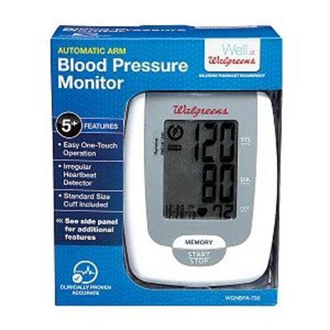 Walgreens Automatic Arm Blood Pressure Monitor