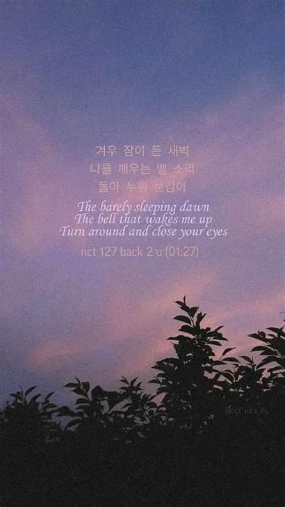 Nct Quotes Lyric Lyrics Wallpapers Desktop Kpop