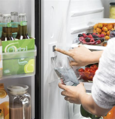 gwejglww ge   cu ft counter depth french door refrigerator white
