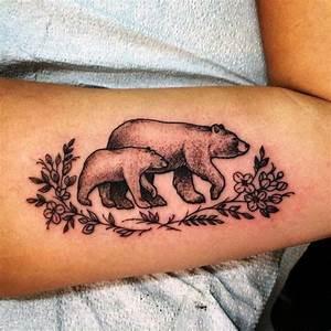 Mini Tattoos Männer : b r tattoos ideen f r m nner und frauen tattoo b r tattoos tattoo ideen und m nner und frauen ~ Frokenaadalensverden.com Haus und Dekorationen