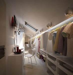 Commode Sous Pente : dressing chambre enfant trendy chambre avec dressing ides ~ Edinachiropracticcenter.com Idées de Décoration