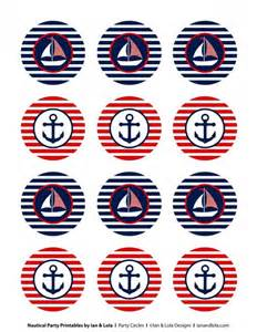 Nautical Party Printables