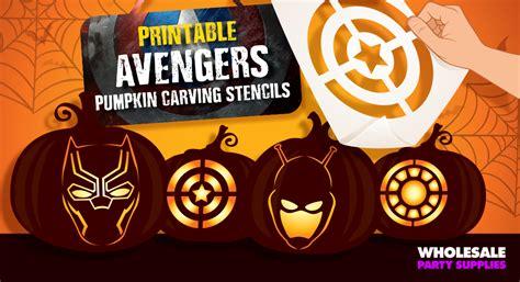 avengers pumpkin stencils www pixshark com images