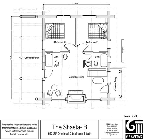 two bedroom cabin floor plans home plans house plans by max fulbright designs