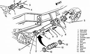 repair guides driveline front driveshaft autozonecom With 87 chevy s10 lifted