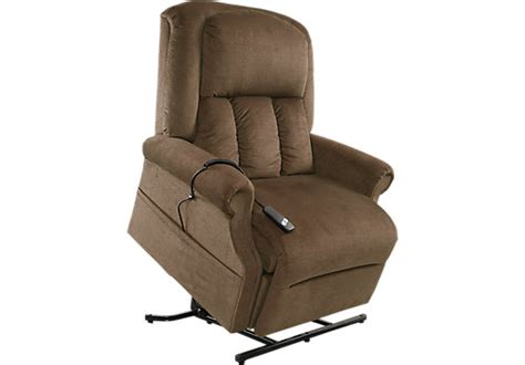 eagle point walnut lift chair recliner recliners brown