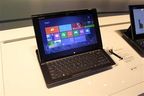 sony vaio mobile ifa sony vaio duo un pc portable tablette sous windows 8