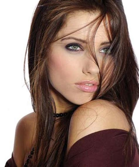 cool brown hair color hair color yourself tendencias