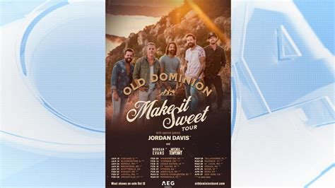 Old Dominion Tour To Come To St. Louis This Spring