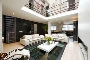 cuisine armony moderne chic contemporain salle de With deco cuisine avec chaises de sejour contemporaine