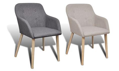 eettafel stoelen met armleuning set eikenhouten eetkamerstoelen met armleuningen groupon