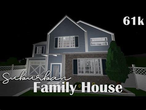 bloxburg suburban family house  clipzuicom
