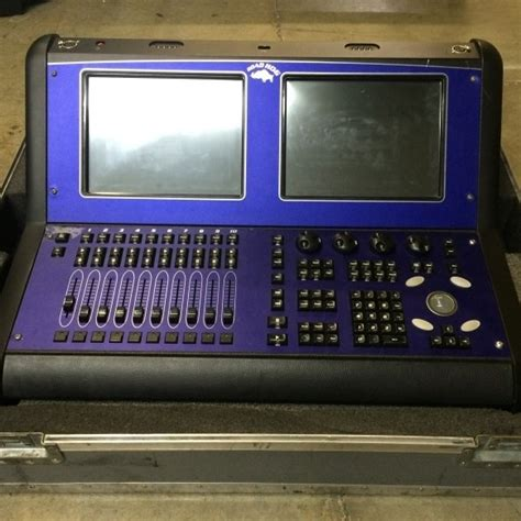 hog lighting console used road hog by high end systems item 42134