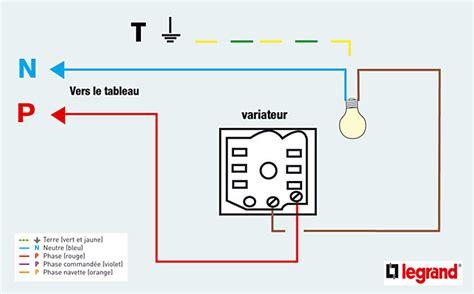 comment installer variateur de lumiere sur inter simple