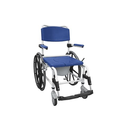drive aluminum rehab shower commode bath chair big wheels