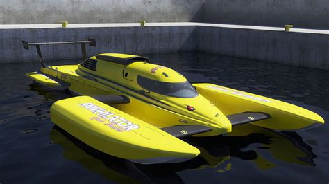 Hydroplane Boat by Hydroplane Boat Annihilator 3d Model Max Obj 3ds Fbx