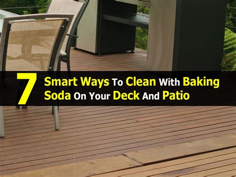 Cleaning Your Deck