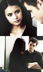 Stefan Salvatore and Elena Gilbert. TVD Stelena | Vampire ...