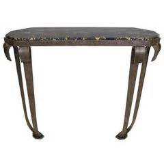 warren mcarthur console work table circa 1938 for sale at
