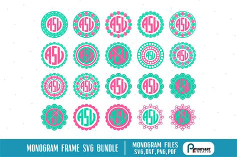 monogram svgmonogram frame svgmonogram svgmonogram svg filemonogram svg  cricutmonogram