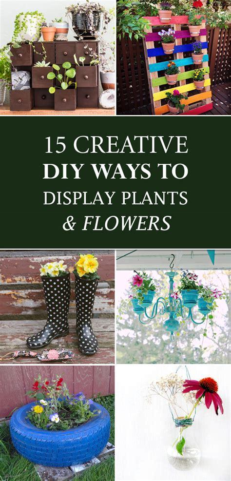 15 Creative Diy Ways To Display Plants And Flowers My