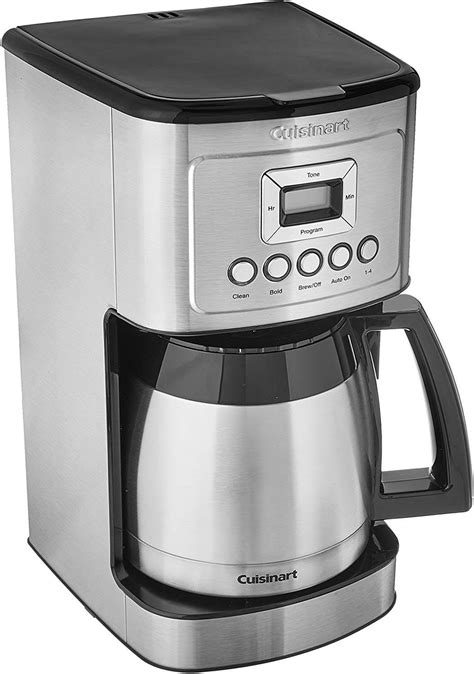 Order an espresso maker or an espresso machine from crate and barrel online for free shipping. Cuisinart DCC-3400P1 Stainless Steel Thermal Coffeemaker Review | Coffee Makers A-Z