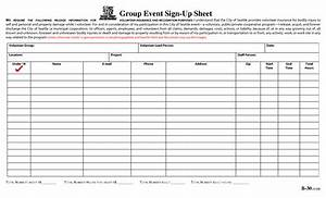group sign in sheet template - best photos of event sign up sheet printable blank sign